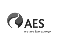 Logo de AES we are the energy